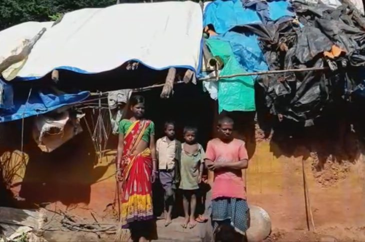 Odisha: Family lives under polythene for years in Keonjhar